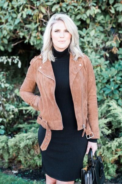 Jacket - Mackage Dress - Aritzia