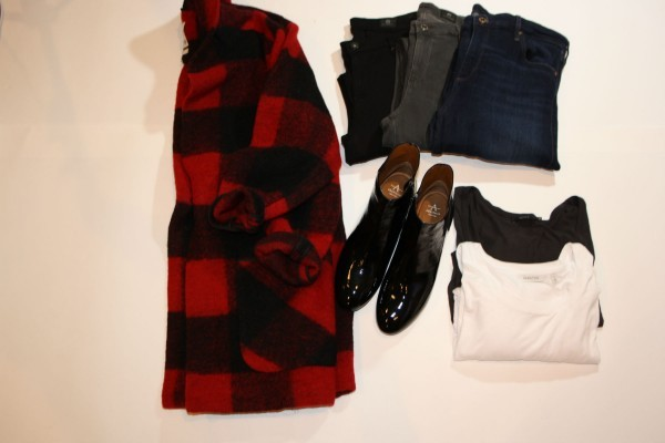 Jacket: Aritzia Denim: AG Boots: Aquaitalia